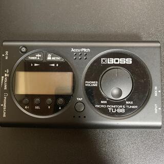ボス(BOSS)の値下げしました BOSS TU-88 micro monitor&tuner(その他)