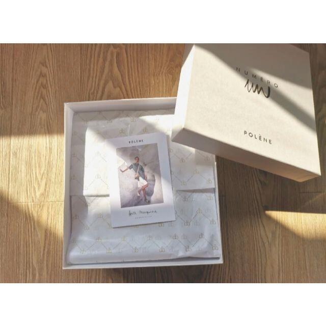 TOMORROWLAND(トゥモローランド)の POLENE ハンドバッグ  オフホワイト レディースのバッグ(ショルダーバッグ)の商品写真