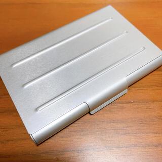 ムジルシリョウヒン(MUJI (無印良品))の無印良品 アルミ カードケース(名刺入れ/定期入れ)