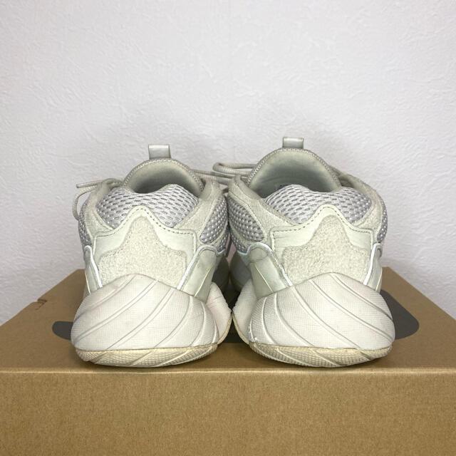 adidas(アディダス)の美品 adidas YEEZY 500 デザート ラット ブラッシュ 27.5 メンズの靴/シューズ(スニーカー)の商品写真