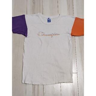 Champion - 希少90's チャンピオン Tシャツ ヴィンテージ クレイジーパターン古着US製