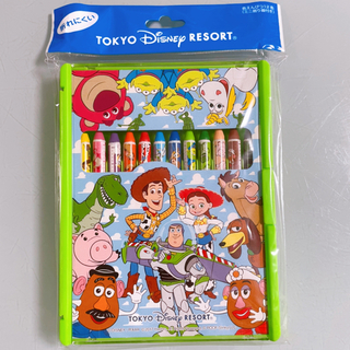ディズニー(Disney)の新品トイ・ストーリー12色ポンキーペンシル(クーピー・クレヨン)(クレヨン/パステル)