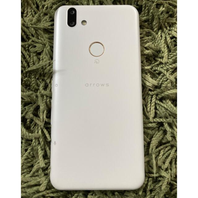 富士通(フジツウ)のarrows RX ホワイト 32 GB SIMフリー スマホ/家電/カメラのスマートフォン/携帯電話(スマートフォン本体)の商品写真