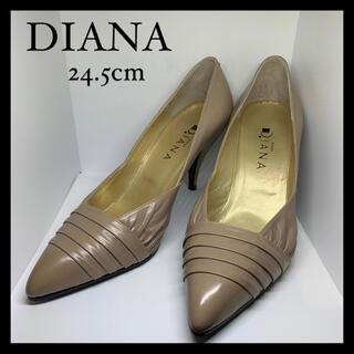 DIANA - 【靴】DIANA ダイアナ パンプス ヒール ポインテッドトゥ 24.5cm