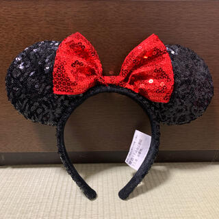 Disney - ディズニー カチューシャ スパンコール ミニー
