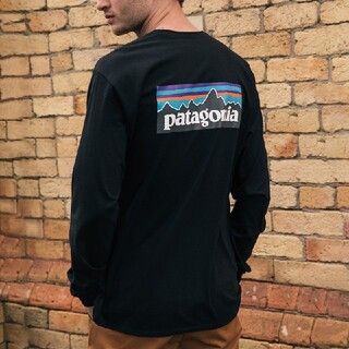 patagonia - パタゴニア Patagonia ロンT Mサイズ 黒ブラック