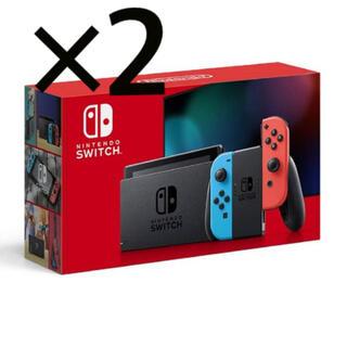 Nintendo Switch - Nintendo Switch ニンテンドースイッチ 本体 2台セット