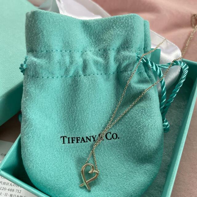 Tiffany & Co.(ティファニー)の値下げ ティファニー ハートネックレス レディースのアクセサリー(ネックレス)の商品写真