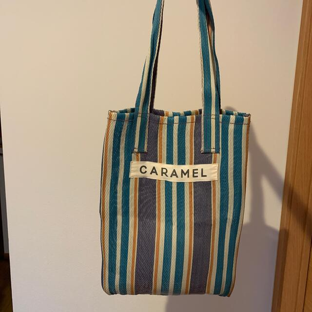 Caramel baby&child (キャラメルベビー&チャイルド)のcaramel トートバッグ キッズ/ベビー/マタニティのこども用バッグ(トートバッグ)の商品写真