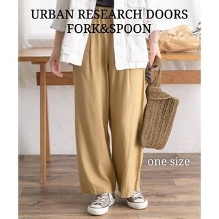 DOORS / URBAN RESEARCH - 《美品》URBAN RESEARCH DOORS リンクルエアーイージーパンツ