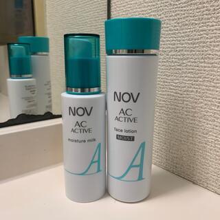 NOV - ノブACアクティブ 化粧水&乳液