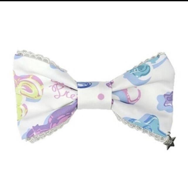 Angelic Pretty(アンジェリックプリティー)のjelly cyandy toys 白 バレッタ レディースのファッション小物(その他)の商品写真