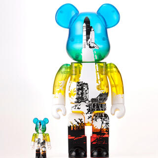 MEDICOM TOY - SPACE SHUTTLE BE@RBRICK LAUNCH Ver