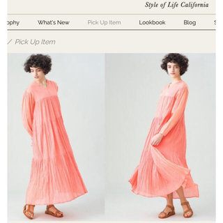 ロンハーマン(Ron Herman)のCrinkle Dress & Skirt ロンハーマン(ロングワンピース/マキシワンピース)