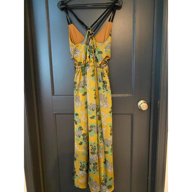 Ameri VINTAGE(アメリヴィンテージ)のAMERI BERRY JACQUARD DRESS  レディースのワンピース(ロングワンピース/マキシワンピース)の商品写真