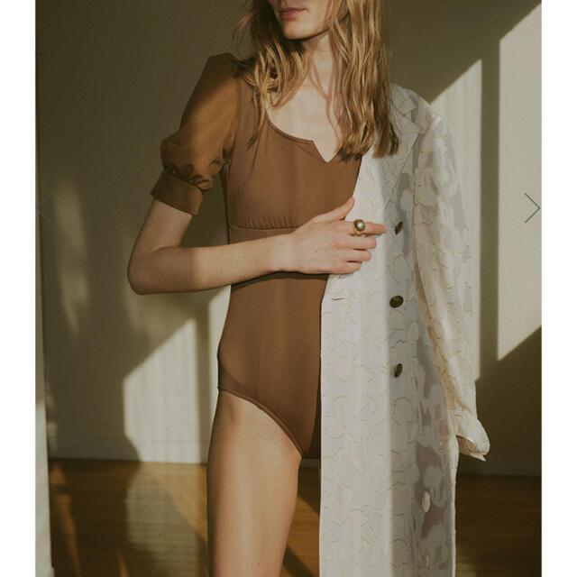 Ameri VINTAGE(アメリヴィンテージ)のAmeri vintage新作MEDI SHEER PUFF SWIMWEAR  レディースの水着/浴衣(水着)の商品写真
