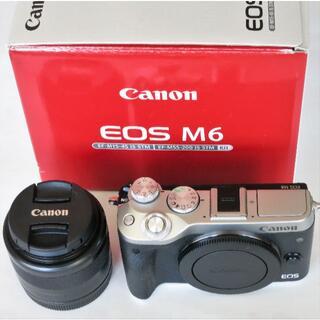 Canon - 極美品  Canon EOS M6 ズームレンズ セット
