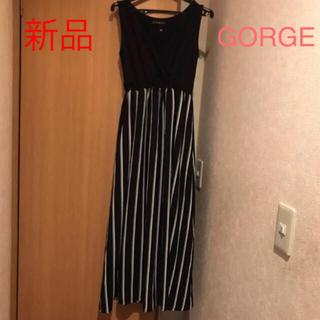 GORGE - お値下げ1680→1480 切り替えし ワンピース
