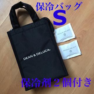 DEAN & DELUCA - DEAN & DELUCA クーラーバッグ ブラックS 保冷剤2個付⭐️新品⭐️