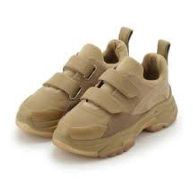 snidel(スナイデル)の最終価格!2019年/2020年 SNIDEL ベルクロスニーカー レディースの靴/シューズ(スニーカー)の商品写真