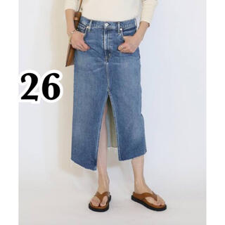 DEUXIEME CLASSE - MUSE【CITIZENS OF HUMANITY】DENIM スカート 26