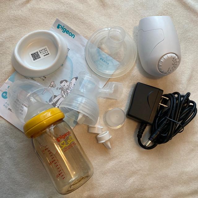 ピジョン 電動搾乳機 キッズ/ベビー/マタニティの授乳/お食事用品(その他)の商品写真
