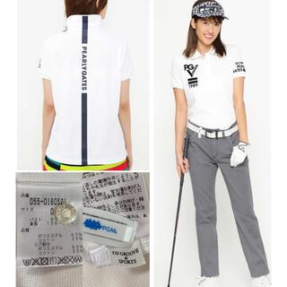 パーリーゲイツ(PEARLY GATES)の専用  パーリーゲイツ バックLINEポロシャツ 0(ウエア)