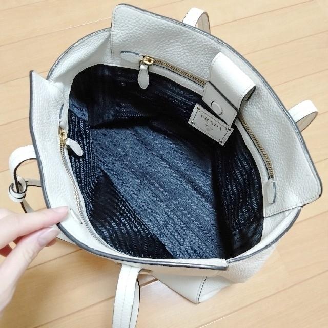 PRADA(プラダ)の*美品*PRADA レザーバッグ レディースのバッグ(ハンドバッグ)の商品写真