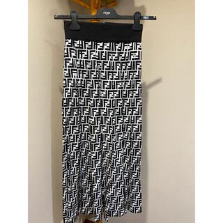 FENDI - FENDI ロゴ スカート