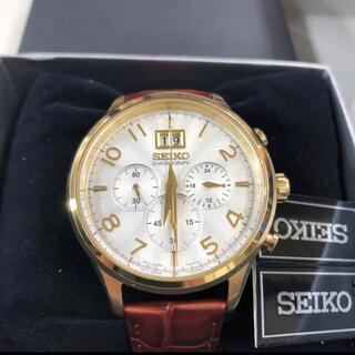 SEIKO - 新品!SEIKO ビッグデイト クロノグラフ 腕時計