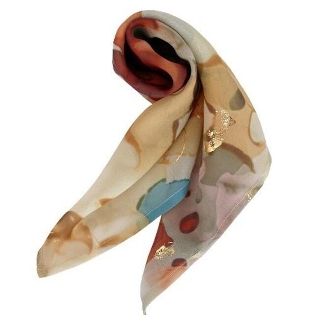 Ameri VINTAGE(アメリヴィンテージ)のアメリヴィンテージ インクアートスカーフ レディースのファッション小物(バンダナ/スカーフ)の商品写真