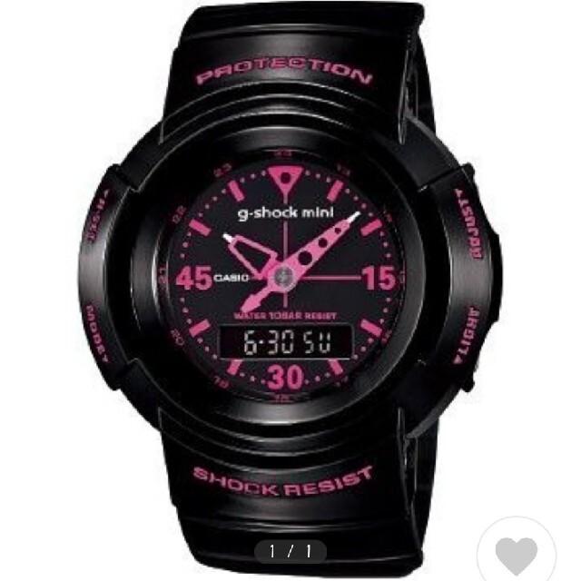 G-SHOCK(ジーショック)のGショックミニ (中古) レディースのファッション小物(腕時計)の商品写真