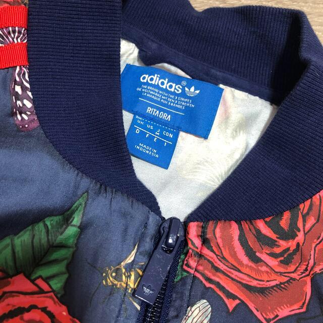 adidas(アディダス)の最終価格🥀adidas originals Rita Ora個性柄ブルゾン レディースのジャケット/アウター(ブルゾン)の商品写真