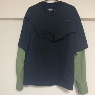 kolor - フェンチェンワン20aw sweatshirt black/army green