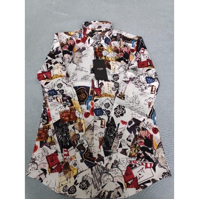 FENDI(フェンディ)のフェンディFENDI  シャツ ワンシャツ 長袖 メンズのトップス(シャツ)の商品写真