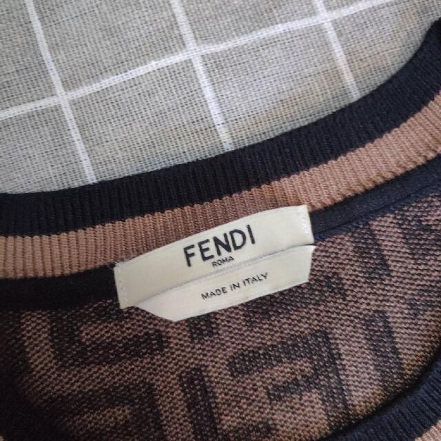 FENDI(フェンディ)の新品大人気 FENDIフェンディ ニット 2点セット レディースのレディース その他(セット/コーデ)の商品写真
