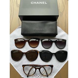 CHANEL - CHANEL クリップオンサングラス  5way 眼鏡