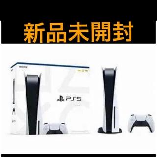 プレイステーション(PlayStation)のPS5 本体 ディスクドライブ搭載(家庭用ゲーム機本体)