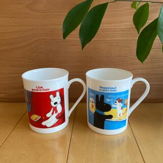 ニッコー(NIKKO)のリサとガスパール NIKKO ペアマグカップ(グラス/カップ)