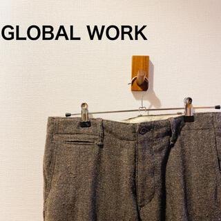 グローバルワーク(GLOBAL WORK)の【使い勝手の良い♪】グローバルワーク ウールスラックスパンツ(スラックス)