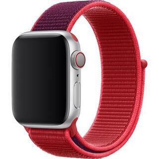 アップルウォッチ(Apple Watch)の未開封品 apple watch純正品バンド スポーツループベルト 38/40用(その他)