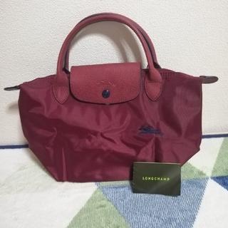 LONGCHAMP - ロンシャン 赤ワインハンドバッグs