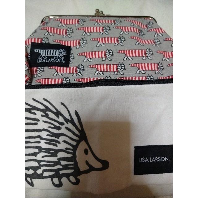 Lisa Larson(リサラーソン)のリサラーソン 付録 ポーチ がま口 マスクポーチ レディースのファッション小物(ポーチ)の商品写真