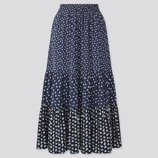ポールアンドジョー(PAUL & JOE)の新品未使用 UNIQLO ポールアンドジョー スカート Lサイズ(ロングスカート)