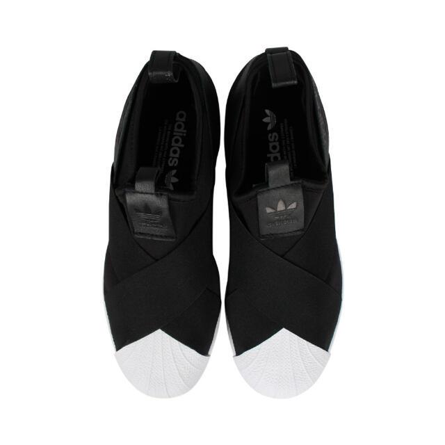 adidas(アディダス)のアディダス スリッポンスニーカー23.5cm SUPERSTAR SLIP ON レディースの靴/シューズ(スニーカー)の商品写真