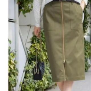 ラウンジドレス(Loungedress)のラウンジドレス ミリタリースカート(ひざ丈スカート)