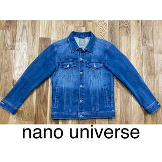 ナノユニバース(nano・universe)のnano universe ストレッチデニムジャケット メンズ Mサイズ(Gジャン/デニムジャケット)