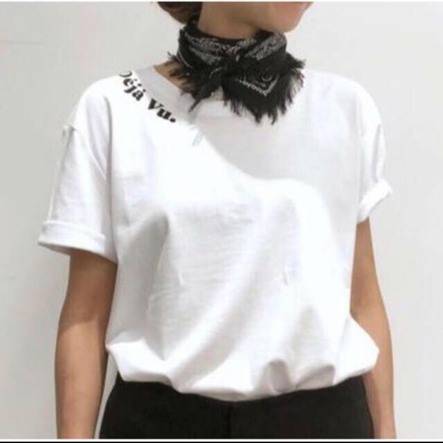 L'Appartement DEUXIEME CLASSE(アパルトモンドゥーズィエムクラス)のアパルトモン Les Petits Basics Deja Vu Tee  レディースのトップス(Tシャツ(半袖/袖なし))の商品写真