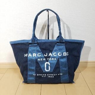 マークジェイコブス(MARC JACOBS)の美品 MARC JACOBS デニムトートバッグ ショルダーバッグ(トートバッグ)