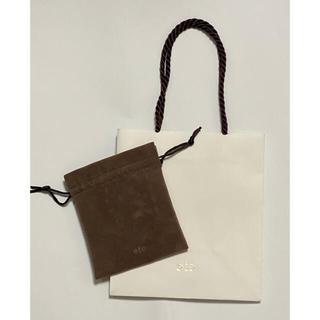 エテ(ete)のete 紙袋 & ジュエリーポーチ エテ(ショップ袋)